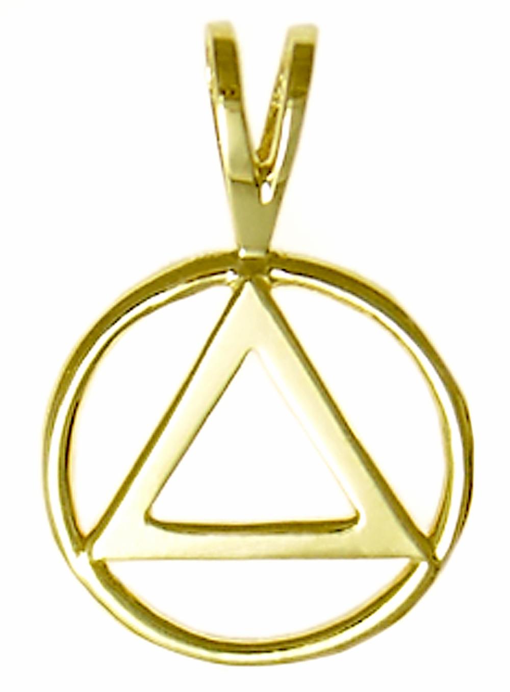 14k gold aa symbol pendant 14kaasymblependantg buycottarizona