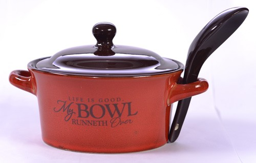 Excellent Wonderful Soup Bowls With Lids And Spoons Pictures - Best Image  CG26