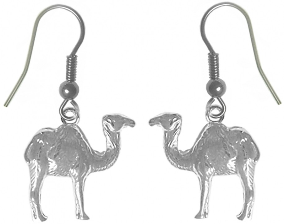sterling silver camel earrings. Black Bedroom Furniture Sets. Home Design Ideas