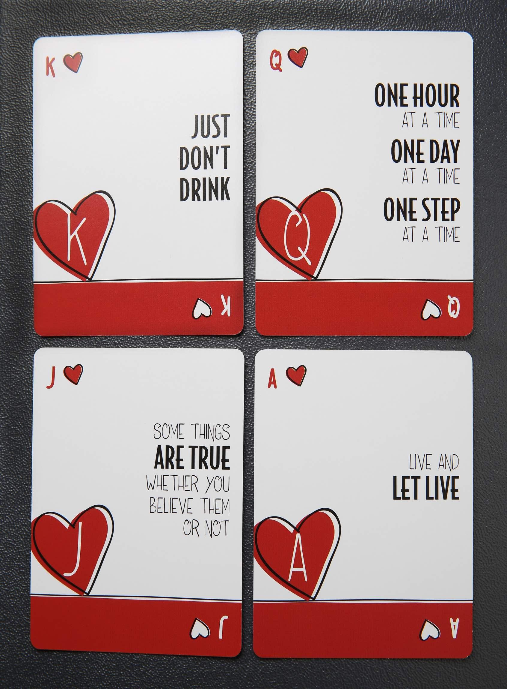 sober cards