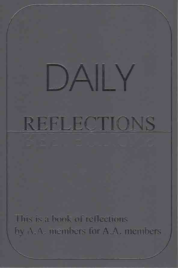 Daily Reflections Large Print Edition Alcoholics