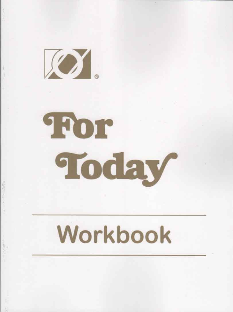For Today Workbook (Overeaters Anonymous)
