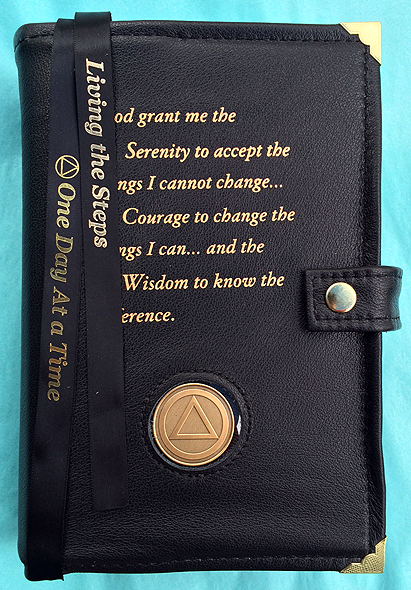 Book Cover Black : Aa genuine leather big book double cover black