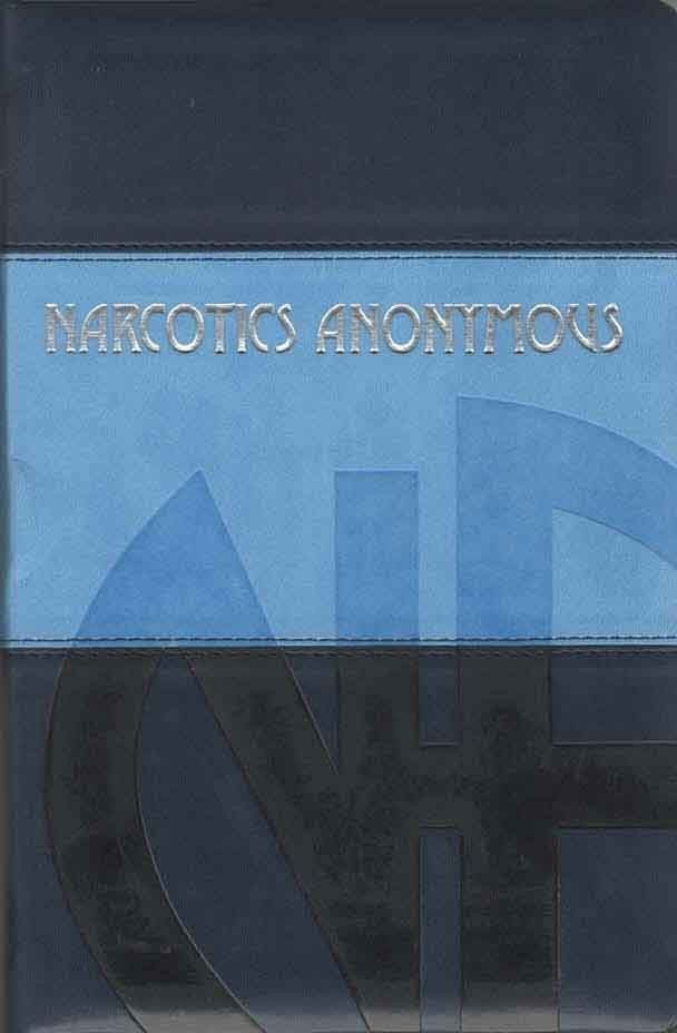 Narcotics Anonymous Main Text Leather Bound