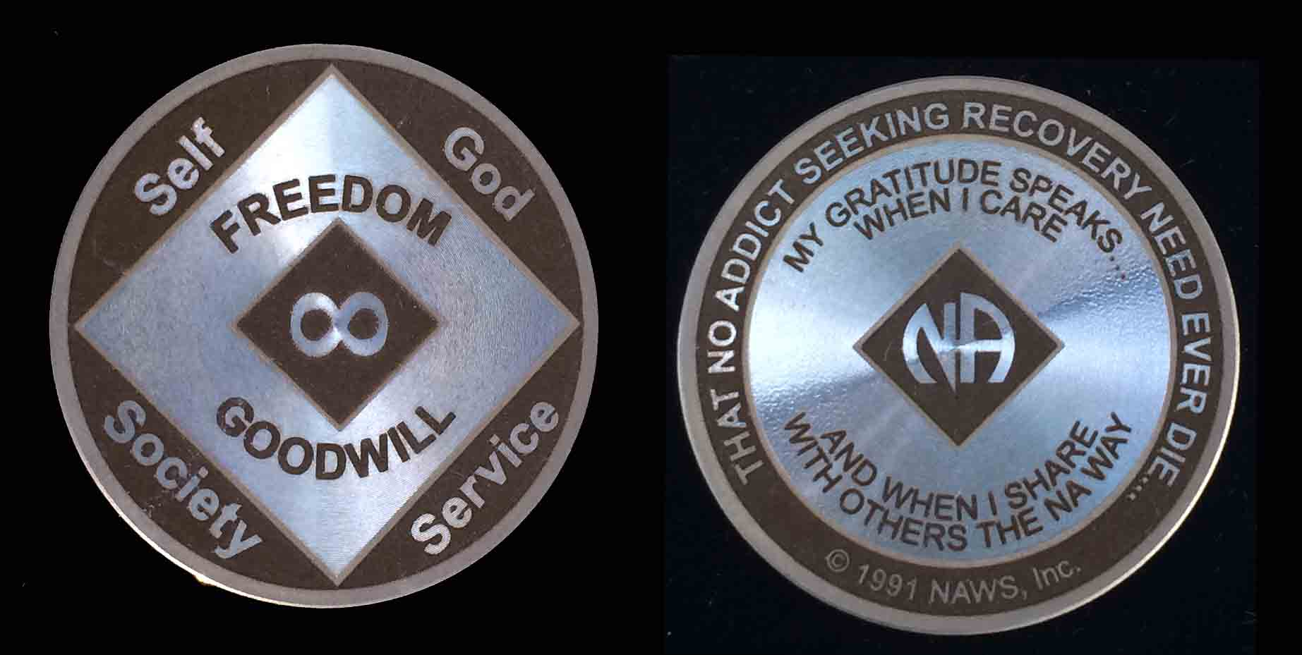 Narcotics Anonymous Coin | NA Coin | My 12 Step Store