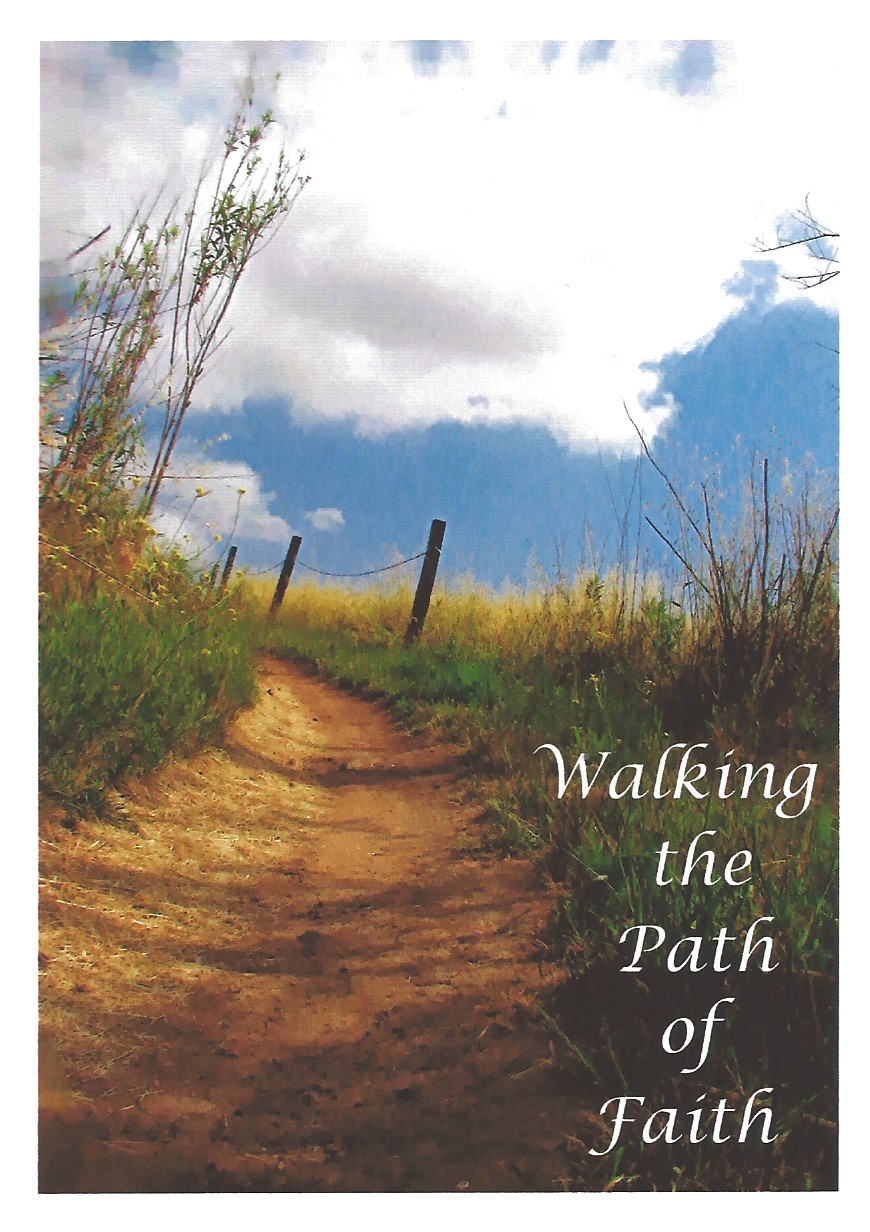 Walking The Path Of Faith Greeting Card