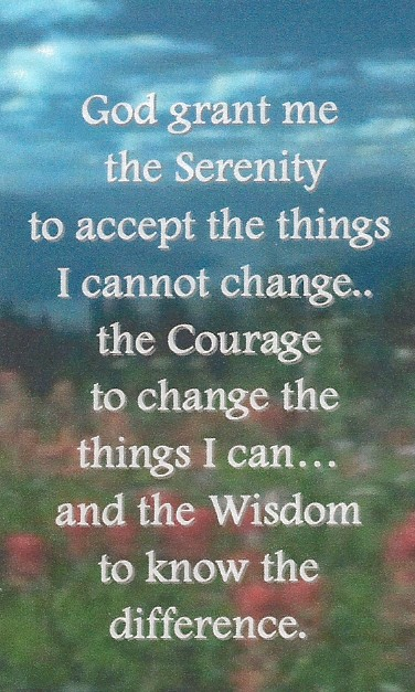 serenity prayer wallet card my 12 step store