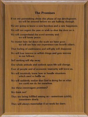 The Promises Wood Plaque
