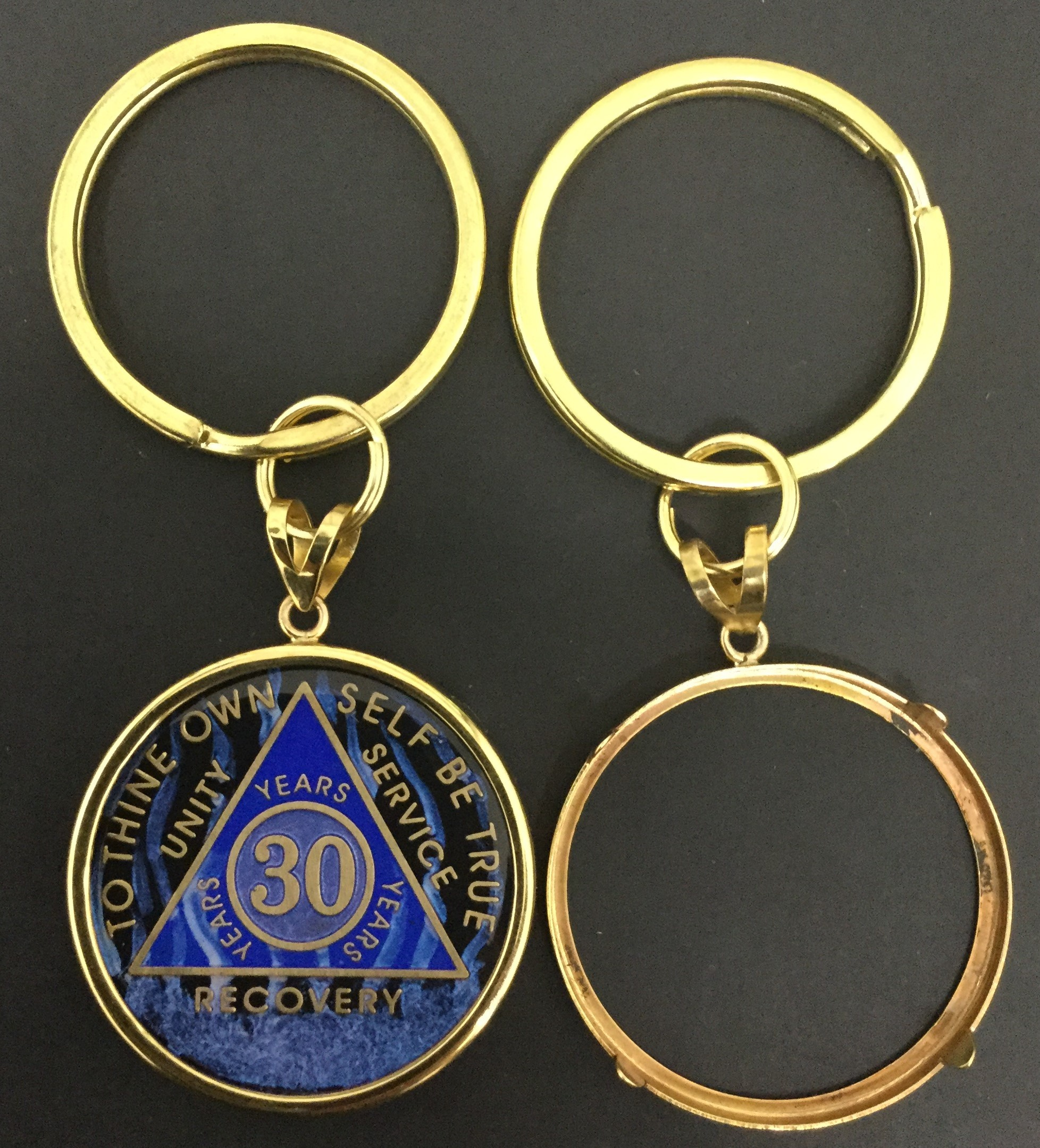 245f2ac2dbc Bezel with Key Chain for Designer Medallions. Loading zoom