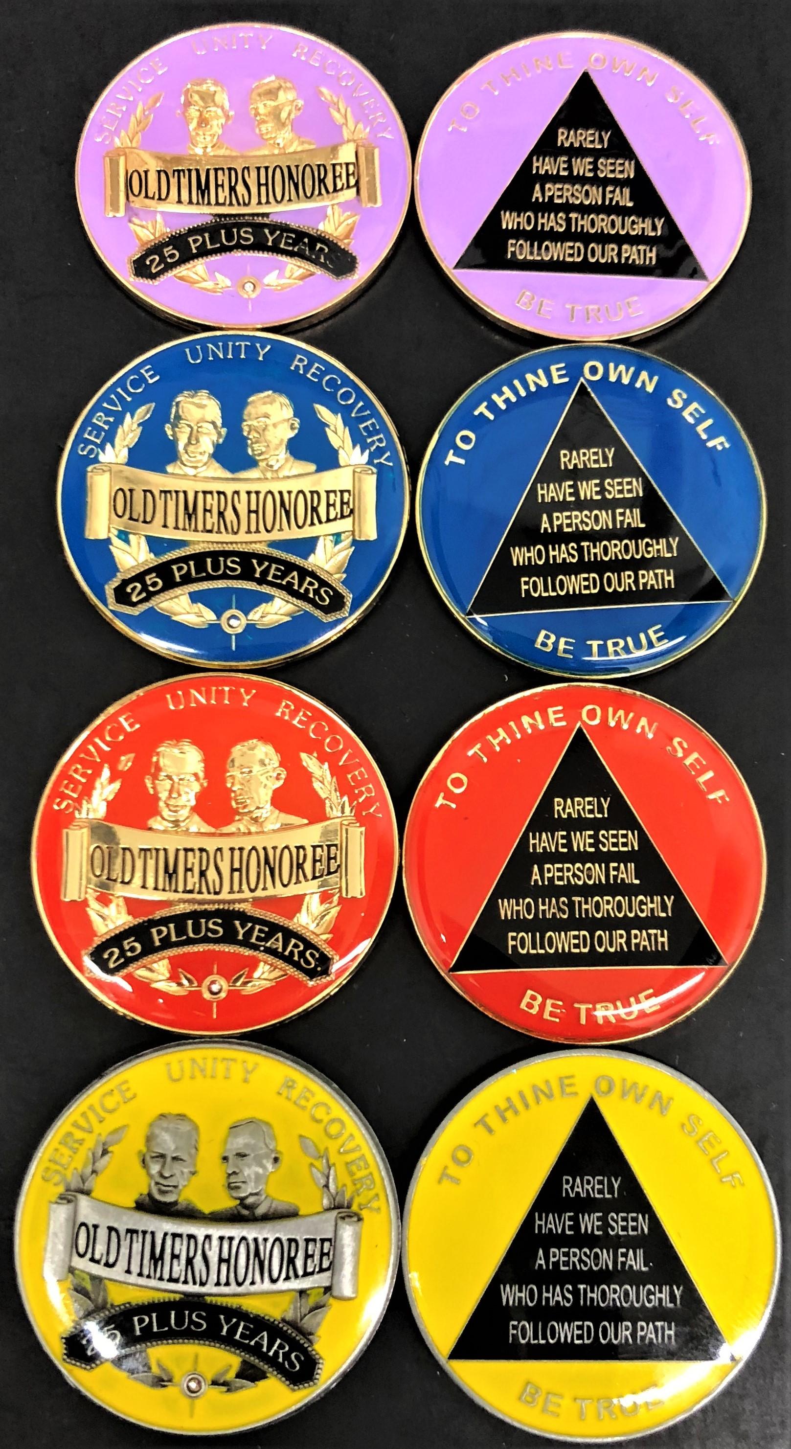 Old Timers Medallion