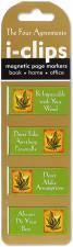 The Four Agreements i-clips page markers