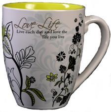 Love Life Bistro Mug