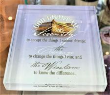 Serenity Prayer Glass Square 3