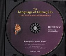 The Language of Letting Go Audio CD