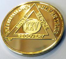 Gold Plated Medallion
