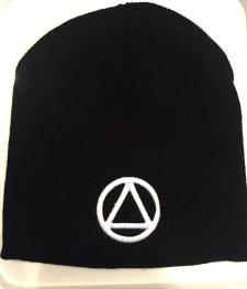 Black AA Symbol Beanie