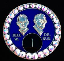 Royal Blue Bill & Bob Bling
