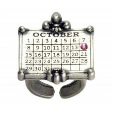 CrownCalendarRingSilver