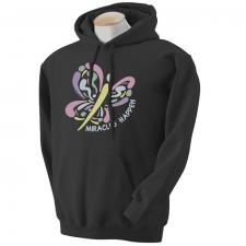 Miracles Happen Hoodie-Black