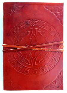 LeatherJournalCeltic