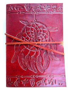 LeatherJournalDreamCatcher