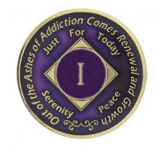 NA Medallion Dark Purple
