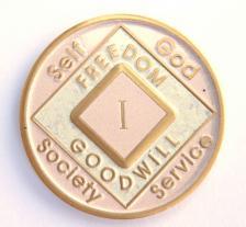NA Pink & Cream Medallion