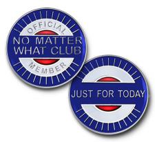 No Matter What Club Enamel Coin