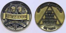 Oldtimers Honoree 25 Plus Years Bronze Medallion