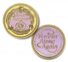 Sisters in Recovery Snapdragon Medallion