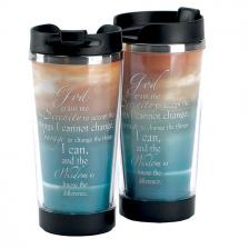 9.5 Ounce Serenity Prayer Travel Mug