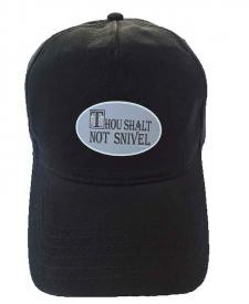 ShallNotSnivelHatSticker