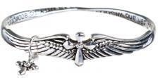 Serenity Mobius Bracelet With Wings