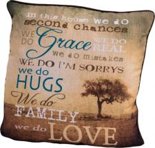 We Do Decorative Pillow