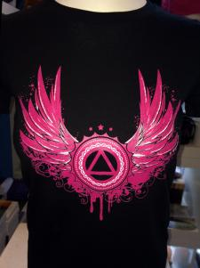 Wings of AA Ladies T-shirt