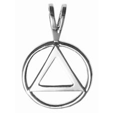 Sterling Silver AA Symbol pendant