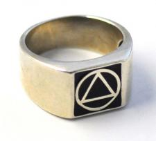Sterling Silver AA Ring