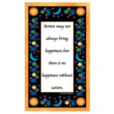 Action/Happiness Magnet