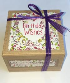 Birthday Wishes Tin Candle W/ Gift Box