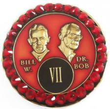 Crystallized Red Bill & Bob Triplate
