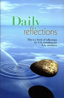 Daily Reflections - Alcoholics Anonymous Book (Updated Cover)