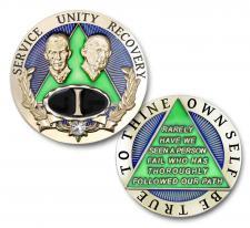 Emerald Bill And Bob Medallion