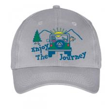 Enjoy The Journey Hat Grey