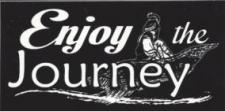 Enjoy The Journey Sticker