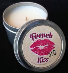 French Kiss Mini Tin Candle