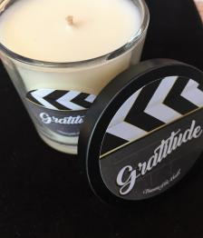Glass Soy Candle- Gratitude