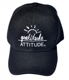 Gratitude Attitude Black Baseball Cap