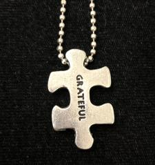 PUZZLE AFFIRMATION JEWELRY - GRATEFUL