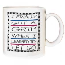 I Finally Got A Grip Mug