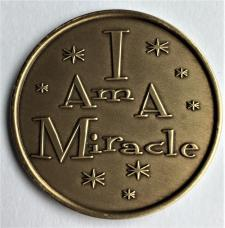 I Am A Miracle Bronze Medallion